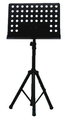 Music Adjustable Height Speaker Stand