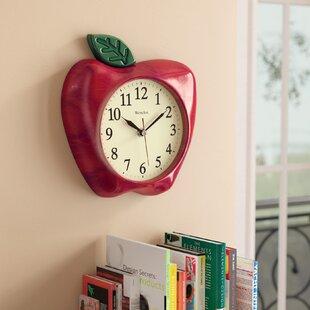 Red Kitchen Clocks | Wayfair