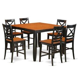 Red Barrel Studio Tamarack 7 Piece Counter Height Pub Table Set