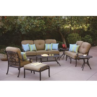 Calhoun 7 Piece Sofa Set with Cushions