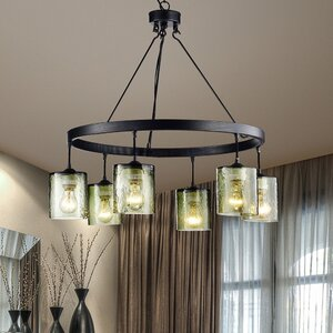 Garrison 6-Light Shaded Chandelier
