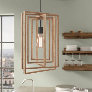 Union Rustic Karly 1-Light Geometric Pendant