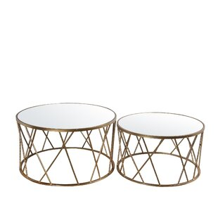 Mercer41 Babcock 2 Pieces Coffee Table Set