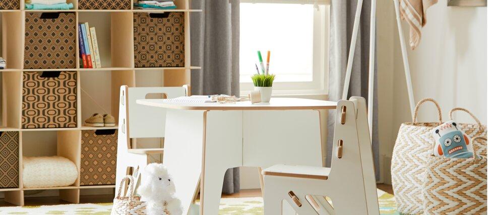 Kids  Table Sets in White. Modern Kids  Furniture   AllModern