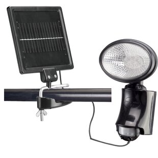 Motion Sensor 1-Light LED Solar Spot Light