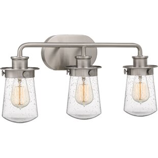 Price comparison Simsbury 3-Light Vanity Light By Breakwater Bay