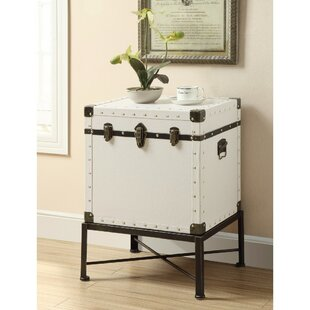 Evan Trunk Style Accent End Table
