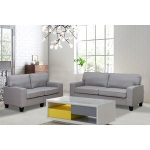 Jordan 2 Piece Living Room Set