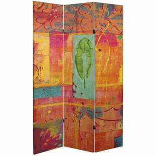 Sapp 3 Panel Room Divider by Bloomsbury Market