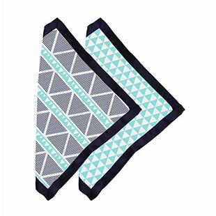 Rovel Triangles Muslin 2 Piece Security Blanket Set By Harriet Bee