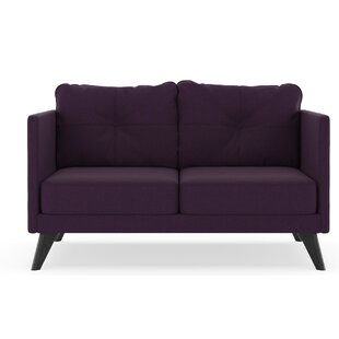 Covey Cross Weave Loveseat by Corrigan Studio Cheap