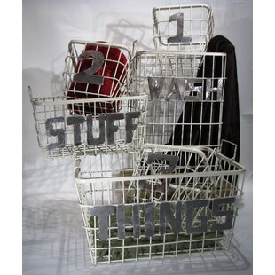 6 Piece Utility Basket Set by Metrotex Designs