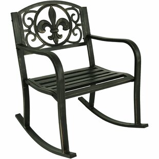 Winston Porter Zelda Patio Rocking Chair