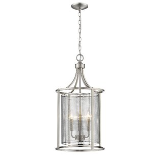 Gracie Oaks Weathers 3-Light Pendant