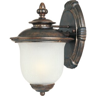 Deals Cambria 1-Light Outdoor Aluminum Wall lantern By Darby Home Co