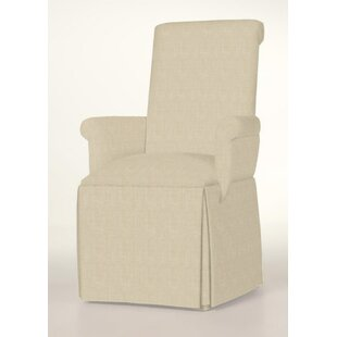 Hadlock Skirted Arm Chair by Alcott Hill Herry Up
