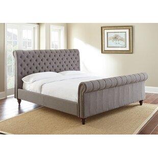 Darby Home Co Karsten Upholstered Sleigh Bed