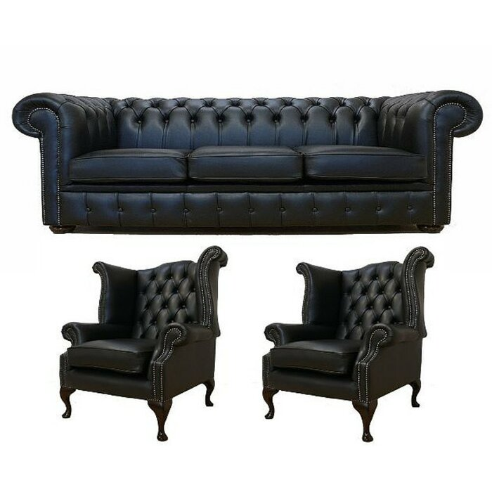 Groovy Chiaramonte 3 Piece Leather Sofa Set Ocoug Best Dining Table And Chair Ideas Images Ocougorg