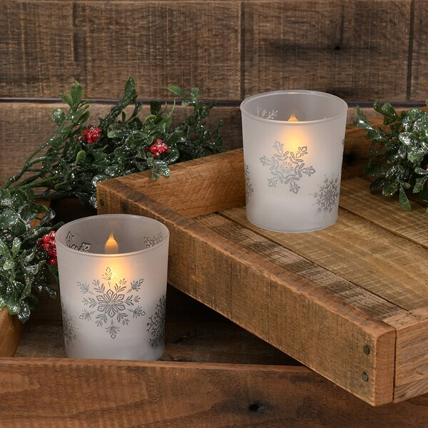 Silver Led Candles Wayfair