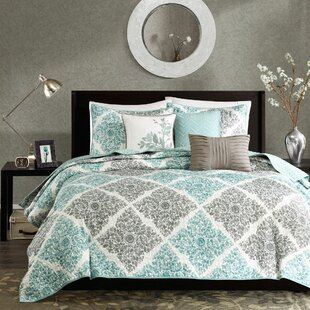 Avebury 6 Piece Reversible Coverlet Set