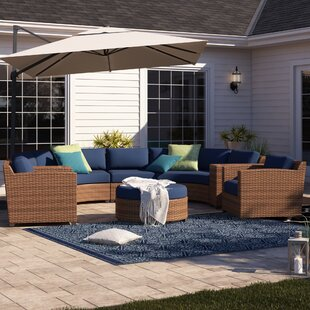 Waterbury 8 Piece Sectional Seating Group with Cushions