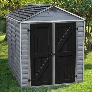 Palram SkyLight™ 6 ft. 1 in. W x 7 ft. 7 in. D Plastic Storage Shed