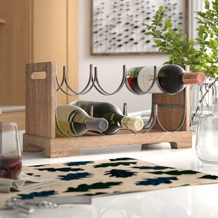 Biggs 8 Bottle Tabletop Wine Rack by Millwood Pines