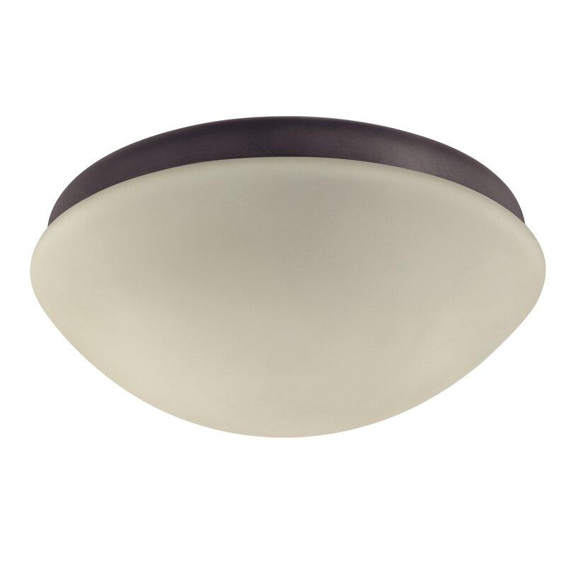 Hunter Fan Gerda 2 Light Bowl Ceiling Fan Globe Light Kit Reviews Wayfair