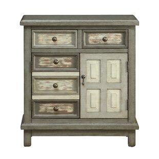 August Grove Summerhill 2 Drawer 2 Door Cabinet