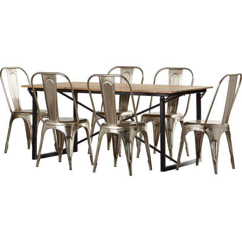 borough wharf essgruppe bundyhill mit 6 st hlen. Black Bedroom Furniture Sets. Home Design Ideas