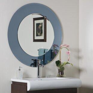 Camilla Modern Round Wall Mirror ByDecor Wonderland