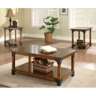 Bon William 3 Piece Coffee Table Set