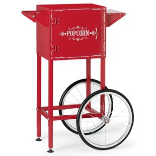 Retro-Style Trolley for Kettle-Style Popcorn Maker