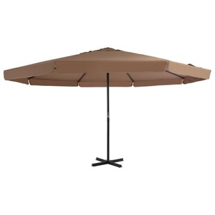 5m Traditional Parasol By Freeport Park