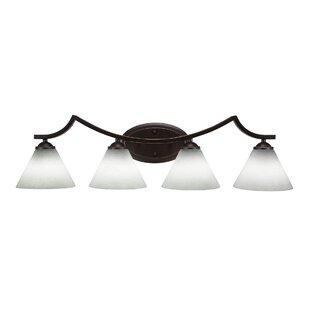 Red Barrel Studio Couto 4-Light Vanity Light