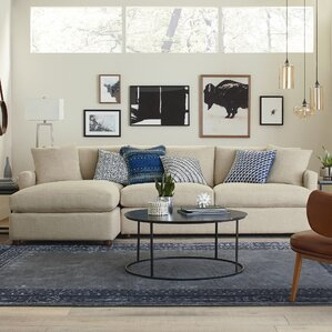 Asher Sectional by AllModern Custom Upholstery