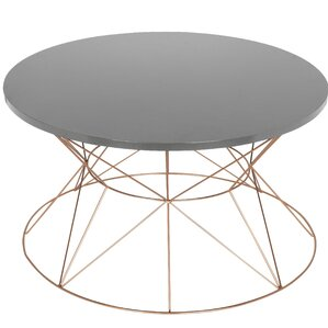 Galien Round Metal Coffee Table by Ivy..