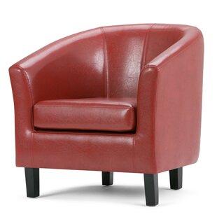 Schwarz Barrel Chair