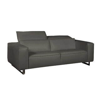 Bellini Modern Living Giadia Leather Loveseat