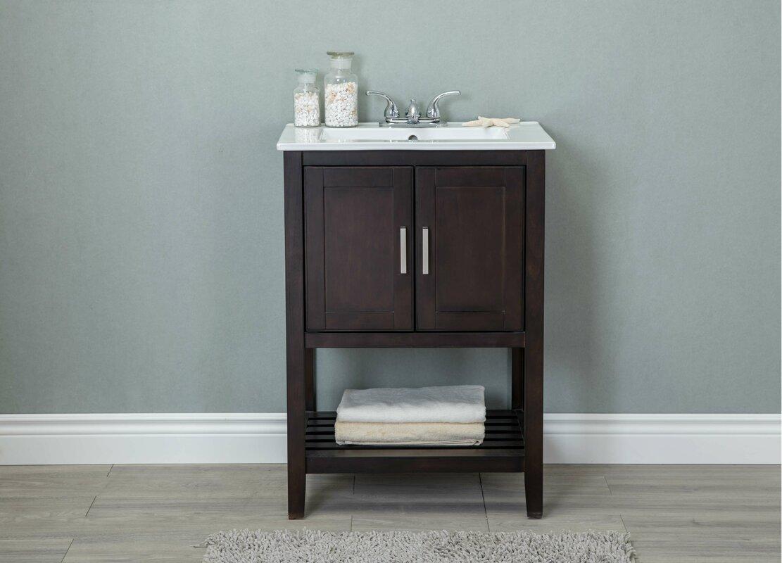 andover mills reynal  single bathroom vanity set  reviews  - defaultname