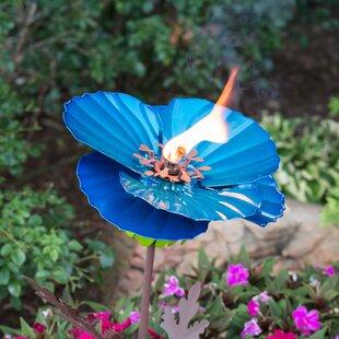 Desert Steel Himalayan Poppy Garden Torch