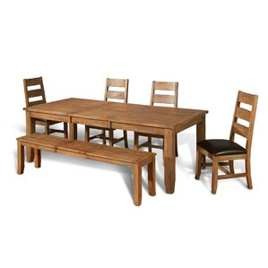 Waldron 6 Piece Dining Set by Loon Peak