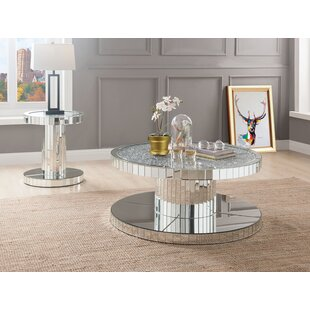 Longoria 2 Piece Coffee Table Set Rosdorf Park