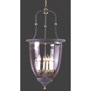 Classic Lighting Asheville 6-Light Urn Pe..
