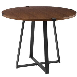 Quan 40 Round Dining Table by Williston Forge Find