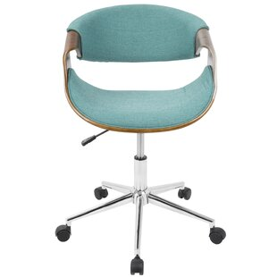 Ordinaire Aqua Desk Chair | Wayfair