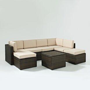 Palm Harbor Corner Chair with Cushion