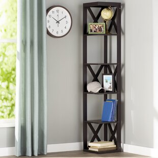 Hattie Corner Unit Bookcase by Andover Mills Great Reviews
