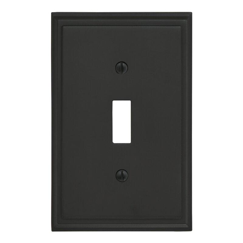 Amerock Mulholland 1 Gang Toggle Light Switch Wall Plate Reviews Wayfair