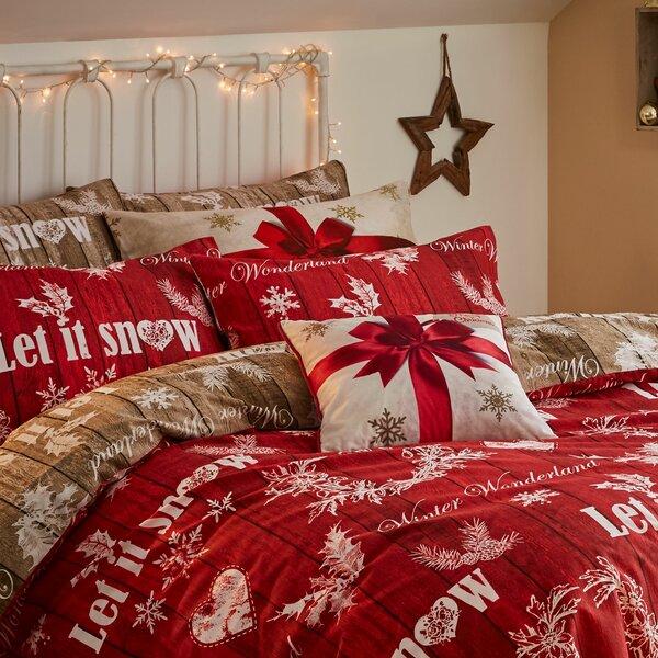 Top 40 Christmas Bedroom Decorations: Christmas Bedding